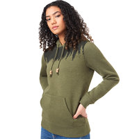 TENTREE W JUNIPER HOODIE OLIVE NIGHT GREEN HEATHER 21