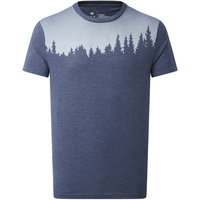 TENTREE M JUNIPER SS TEE DARK OCEAN BLUE HEATHER 21