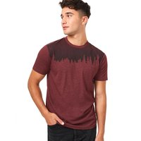 Boutique TENTREE TENTREE M JUNIPER SS TEE RED MAHOGANY HEATHER 21 - Ekosport