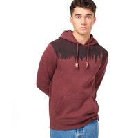 TENTREE M JUNIPER HOODIE RED MAHOGANY HEATHER 21