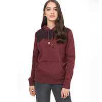 TENTREE W JUNIPER HOODIE RED MAHOGANY HEATHER 21
