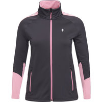 PEAK PERFORMANCE W RIDER ZIP JACKET IRON CAST 21