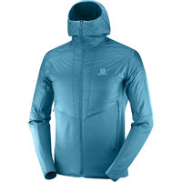Vêtement de randonnée SALOMON SALOMON OUTLINE WARM JKT M LYONS BLUE/HEATHER 20 - Ekosport