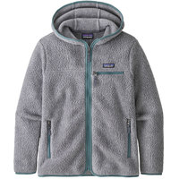 Collection PATAGONIA PATAGONIA W'S RETRO PILE HOODY SALT GREY 21 - Ekosport