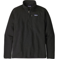 Vêtement polaire PATAGONIA PATAGONIA M'S BETTER SWEATER 1/4 ZIP BLACK 21 - Ekosport