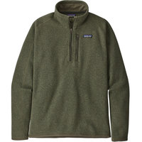 Vêtement polaire PATAGONIA PATAGONIA M'S BETTER SWEATER 1/4 ZIP INDUSTRIAL GREEN 21  - Ekosport