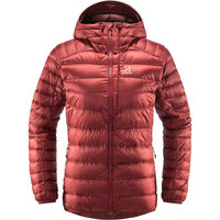 Boutique HAGLÖFS HAGLÖFS ROC DOWN HOOD WOMEN BRICK RED 21 - Ekosport