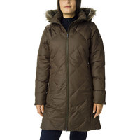 COLUMBIA ICY HEIGHTS™ II MID LENGTH DOWN JACKET OLIVE GREEN 20