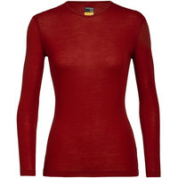Boutique ICEBREAKER ICEBREAKER WMNS 175 EVERYDAY LS CREWE OXBLOOD 21 - Ekosport