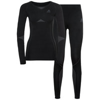 Sous vêtement thermique ODLO ODLO WINTER SPECIALS PERFORMANCE EVOLUTION WARM W BLACK/ODLO GRAPHITE GREY 21 - Ekosport