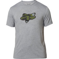 BU Textile FOX FOX PREDATOR SS TECH TEE HEATHER GRAPHITE 21 - Ekosport