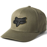 FOX EPICYCLE FLEXFIT 2.0 HAT OLIVE GREEN 21