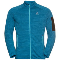 ODLO STEAM MIDLAYER FZ MYKONOS BLUE MELANGE 21