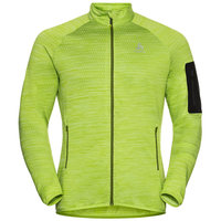ODLO STEAM MIDLAYER FZ MACAW GREEN MELANGE 21
