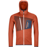 ORTOVOX FLEECE GRID HOODY M DESERT ORANGE 21