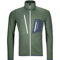 ORTOVOX FLEECE GRID JACKET M GREEN FOREST 21