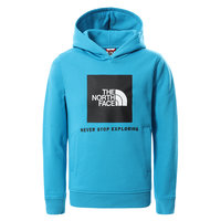 THE NORTH FACE Y BOX P/O HOODIE MERIDIAN BLUE 21