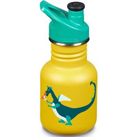 KLEAN KANTEEN 12OZ KID OCEAN SPORT CAP 3.0 DRAGON SNACK/YELLOW 21