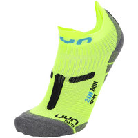UYN MAN RUN 2IN SOCKS YELLOW FLUO/BLACK 21