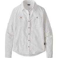PATAGONIA W'S L/S SELF GUIDED HIKE SHIRT WHITE 21