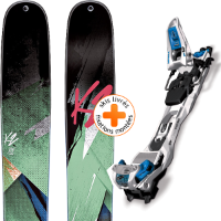 Pack ski+fix K2 K2 REMEDY 102 W 15 + MARKER F12 TOUR EPF WH/BK/BL 15 - Ekosport