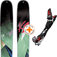 Pack ski+fix K2 K2 REMEDY 102 W 15 + MARKER F10 TOUR BK/WH/RD 16 - Ekosport
