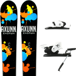AXUNN EKOMAX COLORS BLACK 14 + SALOMON Z12 B90 WHITE/BLACK 19