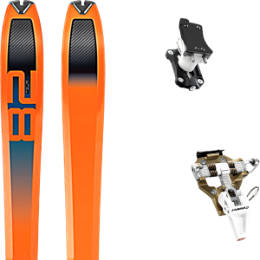 Pack ski+fix DYNAFIT DYNAFIT TOUR 82 20 + DYNAFIT SPEED TURN 2.0 BRONZE/BLACK 21 - Ekosport