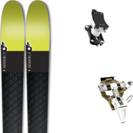 MOVEMENT SESSION 5 AXES CARBON 18 + DYNAFIT SPEED TURN 2.0 BRONZE/BLACK 19