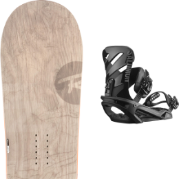 ROSSIGNOL TEMPLAR WIDE 19 + SALOMON RHYTHM BLACK 19