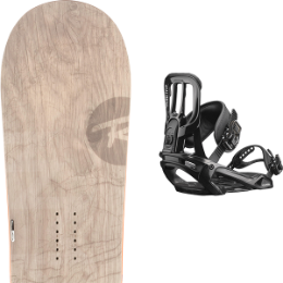 ROSSIGNOL TEMPLAR WIDE 19 + SALOMON PACT BLACK 19