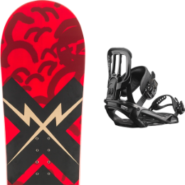 ROSSIGNOL CIRCUIT WIDE 19 + SALOMON PACT BLACK 19