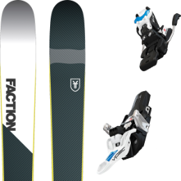 Boutique FACTION FACTION PRIME 2.0 19 + FRITSCHI VIPEC EVO 12 110MM 20 - Ekosport