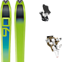 Pack ski+fix DYNAFIT DYNAFIT SPEED 90 20 + DYNAFIT SPEED TURN 2.0 BRONZE/BLACK 21 - Ekosport