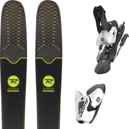 Pack ski+fix ROSSIGNOL ROSSIGNOL SOUL 7 HD 19 + SALOMON Z12 B100 WHITE/BLACK 19 - Ekosport