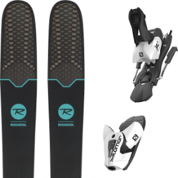 Pack ski+fix ROSSIGNOL ROSSIGNOL SOUL 7 HD W 19 + SALOMON Z12 B100 WHITE/BLACK 19 - Ekosport
