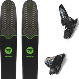 Collection ROSSIGNOL ROSSIGNOL SUPER 7 HD 19 + MARKER GRIFFON 13 ID BLACK 20 - Ekosport