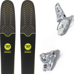 Collection ROSSIGNOL ROSSIGNOL SOUL 7 HD 19 + MARKER SQUIRE 11 ID WHITE 20 - Ekosport