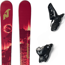 NORDICA SOUL RIDER 87 RED/GOLD 19 + MARKER SQUIRE 11 ID BLACK 19