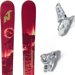 NORDICA SOUL RIDER 87 RED/GOLD 19 + MARKER SQUIRE 11 ID WHITE 20