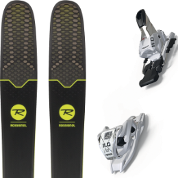 Collection ROSSIGNOL ROSSIGNOL SOUL 7 HD 19 + MARKER 11.0 TP 110MM WHITE 19 - Ekosport