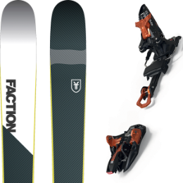 Collection FACTION FACTION PRIME 2.0 19 + MARKER KINGPIN 13 100-125 MM BLACK/COOPER 20 - Ekosport