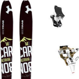 SKI TRAB ALTAVIA CARBON 8.0 20 + DYNAFIT SPEED TURN 2.0 BRONZE/BLACK 20