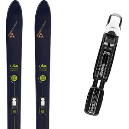 FISCHER EXCURSION 88 CROWN/SKIN 20 + ROSSIGNOL BC MANUAL 20