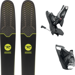 ROSSIGNOL SOUL 7 HD 19 + LOOK SPX 12 DUAL B120 BLACK/WHITE 19