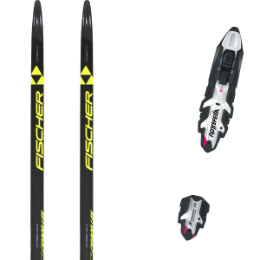 FISCHER CARBONLITE CLASSIC COLD SOFT NIS 17 + ROTTEFELLA XCELERATOR 2.0 CLASSIC NIS 20