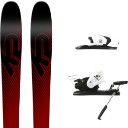 K2 PINNACLE 85 19 + SALOMON Z12 B90 WHITE/BLACK 19