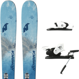 NORDICA ASTRAL 84 AQUA 19 + SALOMON Z12 B90 WHITE/BLACK 19