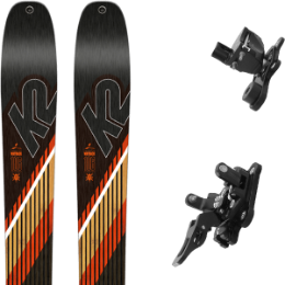 K2 WAYBACK 106 20 + PLUM YAK 14 BLACK 19