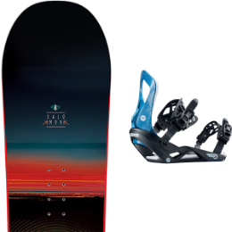 SALOMON PULSE 19 + ROSSIGNOL VIPER M/L 19